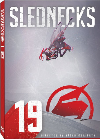 Slednecks 19 Snowmobile DVD or Blu-Ray