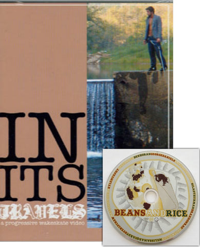 In Its Travels Wakeskate DVD with FREE copy of Beans and Rice DVD