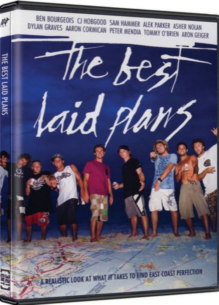 The Best Laid Plans East Coast Surfing DVD