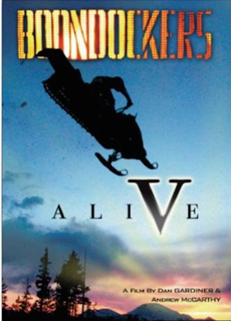 Boondockers 5 Alive Snowmobile DVD