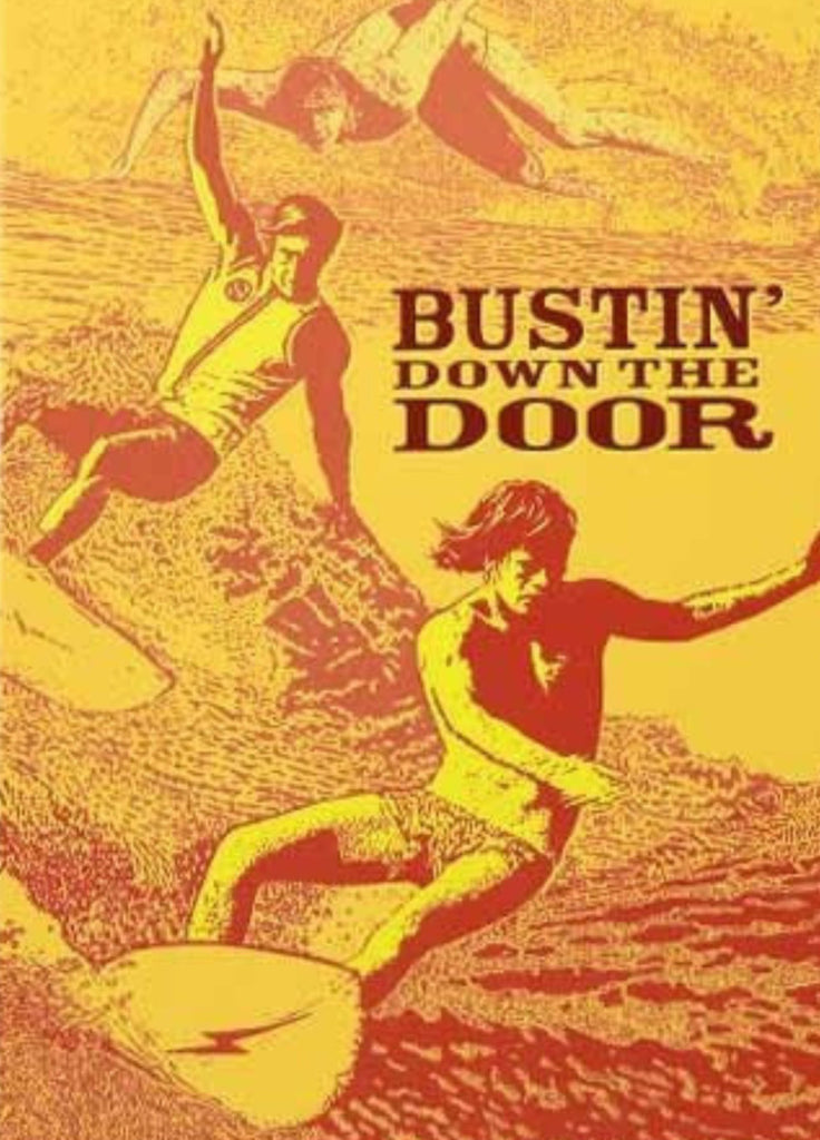 Bustin' Down the Door Surfing DVD with Book