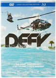 DEFY The Danny Harf Project - Collector's Edition - DVD and Blu Ray Combo - with FREE copy of The Book Wakeskate Basics