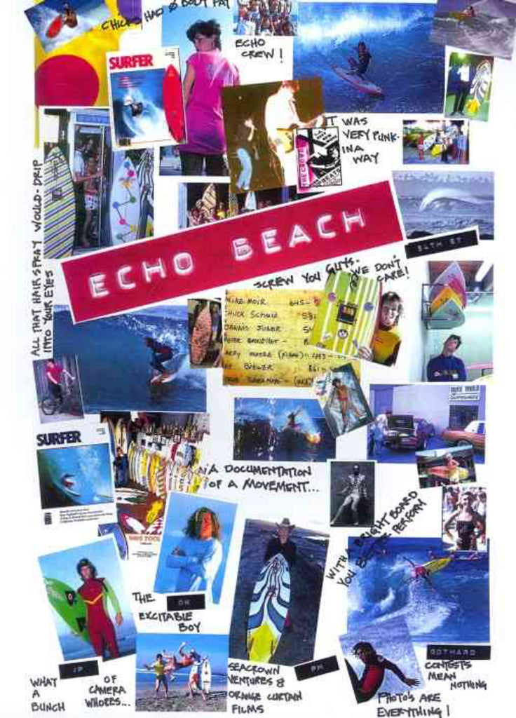 Echo Beach Surfing DVD