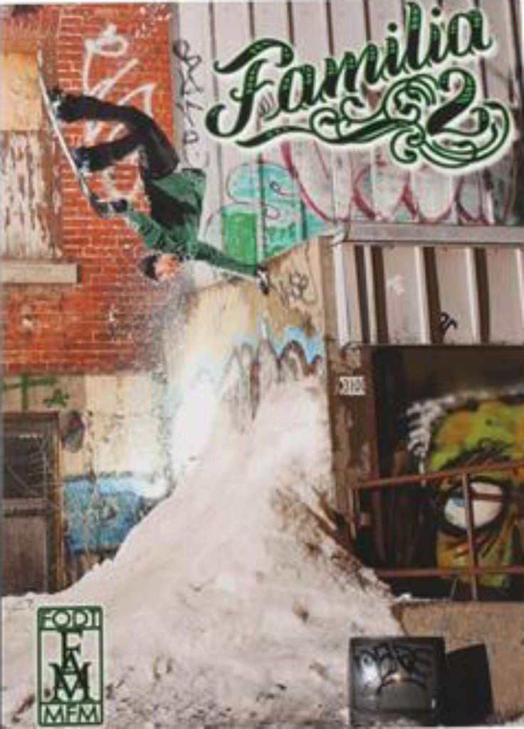 Familia 2 Snowboard DVD by Finger on da Trigger FODT