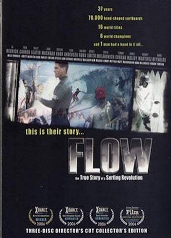 Flow - The True Story of a Surfing Revolution - 3 DVD Director's Cut Collector's Edition