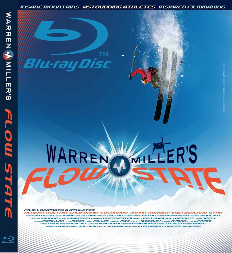 Warren Miller Flow State Blu-ray