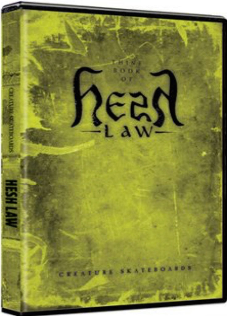 Thine Book of Hesh Law Special Edition 2-DVD and Book Set