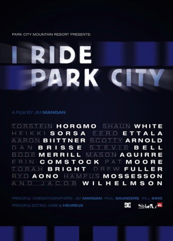 I Ride Park City Snowboard DVD
