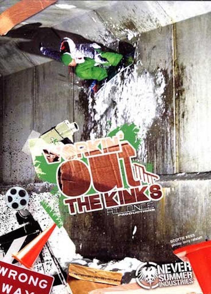 Workin'  Out The Kinks Snowboard DVD