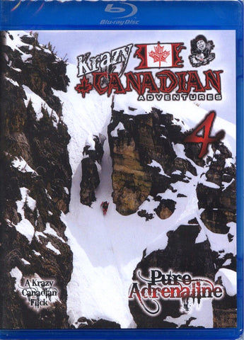 Krazy Canadian Adventures 4 Snowmobile Blu-Ray or DVD