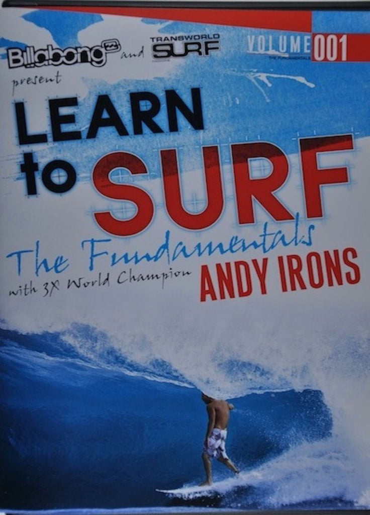 Learn to Surf The Fundamentals with Andy Irons DVD