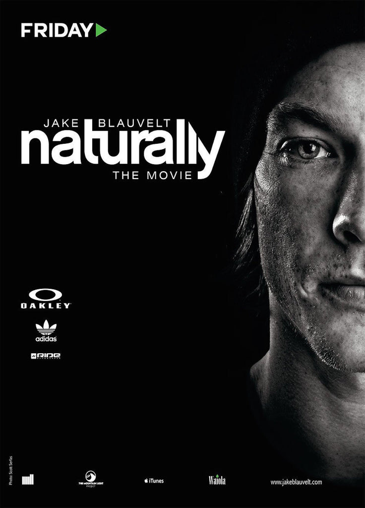 Jake Blauvelt Naturally Snowboard DVD or Blu-ray