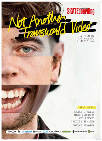 Not Another Transworld Video Skateboard DVD