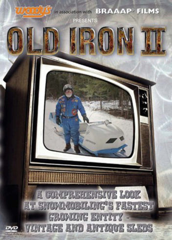 Old Iron II Snowmobile DVD