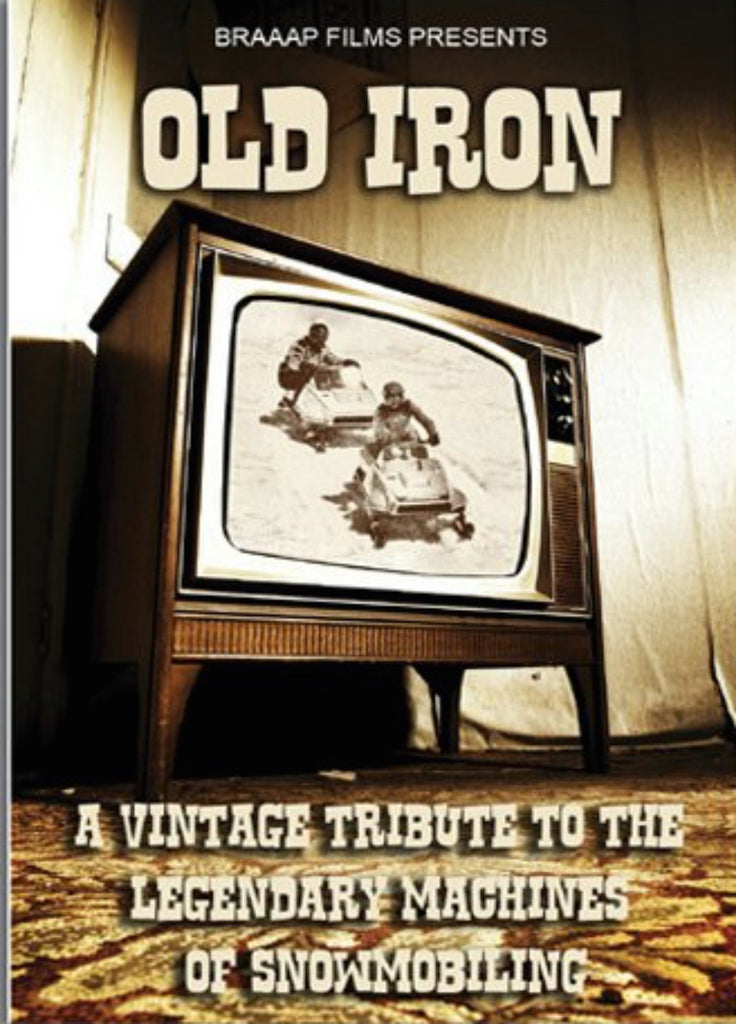 Old Iron Snowmobile DVD