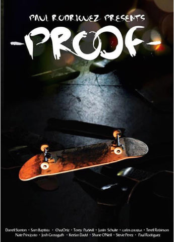 Proof Skateboard DVD