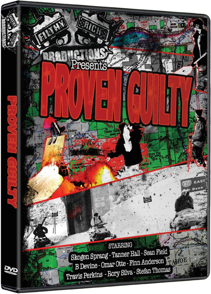 Proven Guilty Ski DVD
