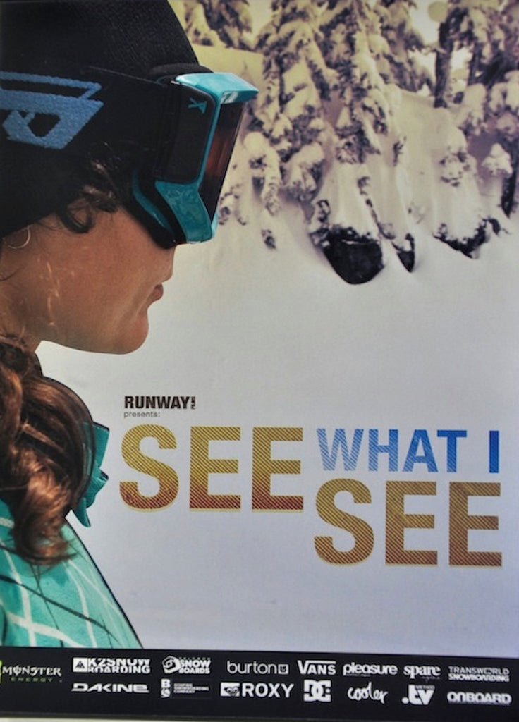 See What I See - All Female Snowboarding DVD