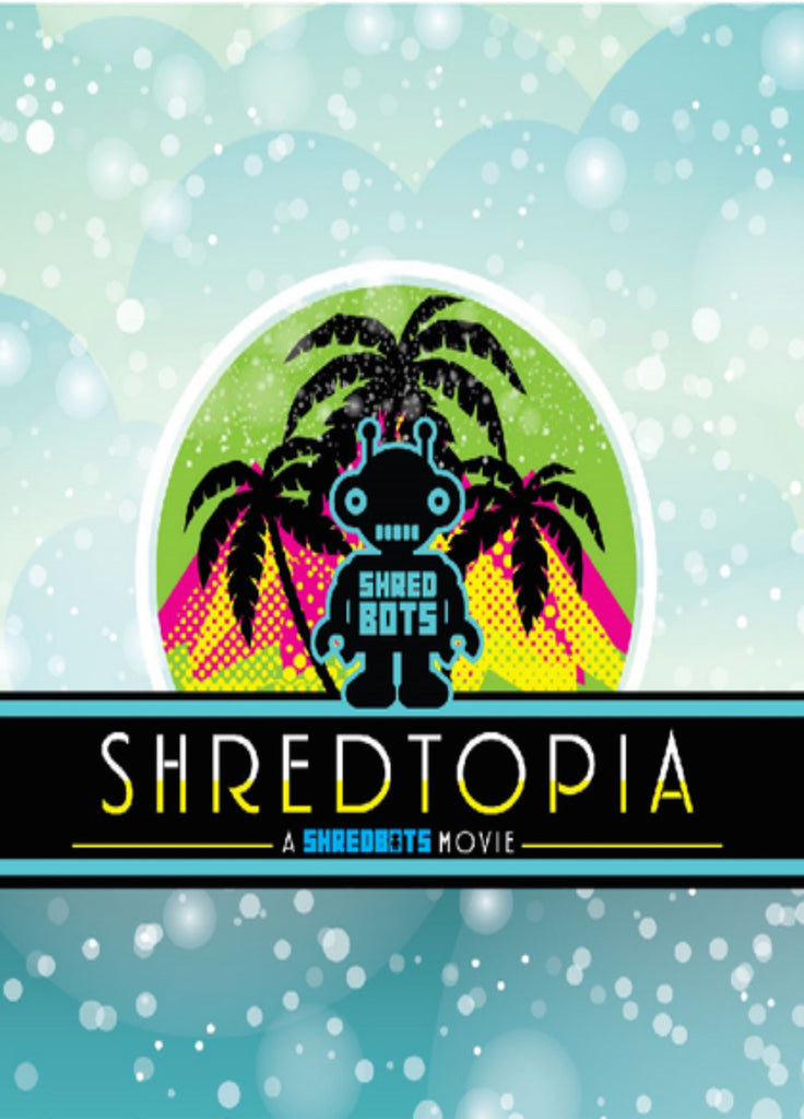 Shredtopia Snowboard DVD - A Shredbots Movie