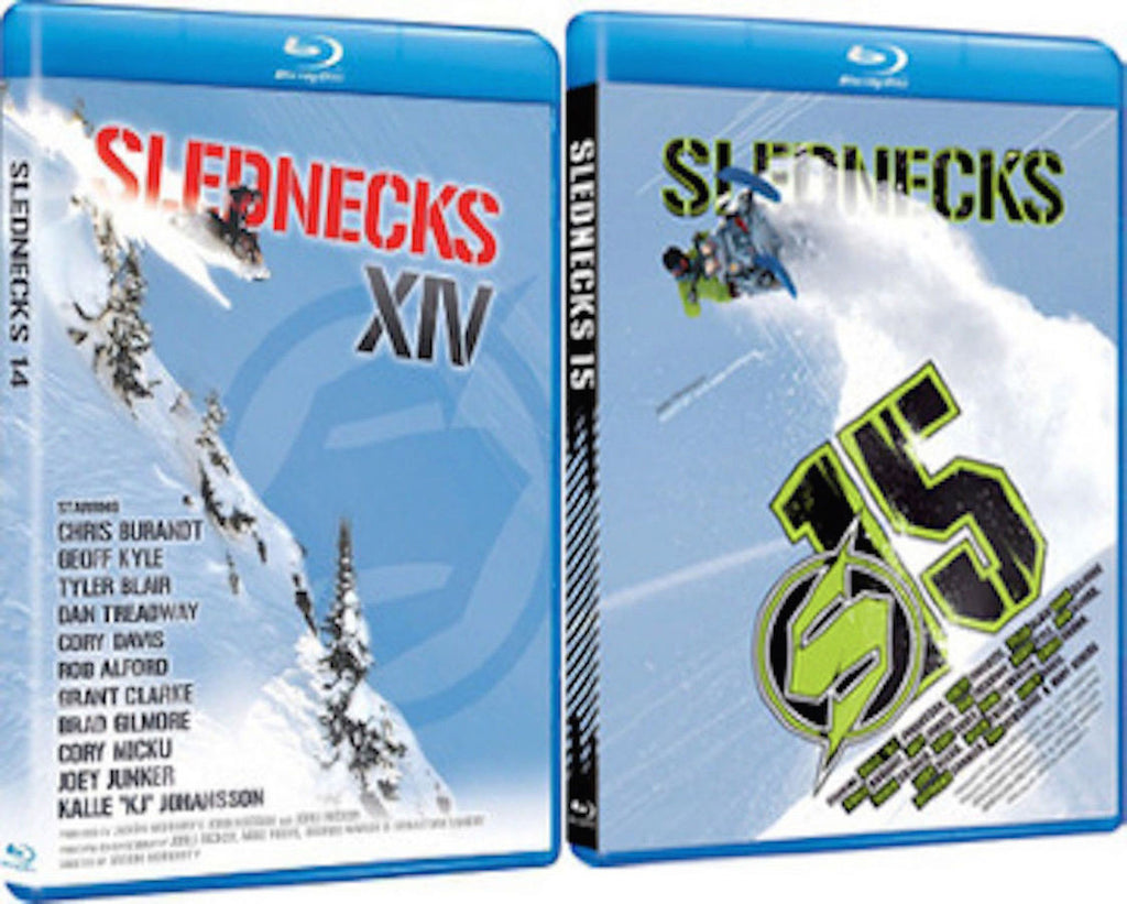 Slednecks 14 and 15 Blu-ray 2-Pack