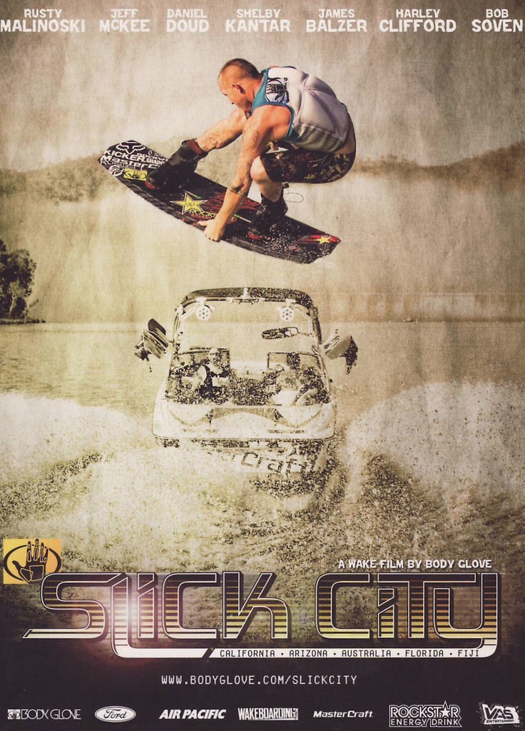 Slick City Wakeboard DVD