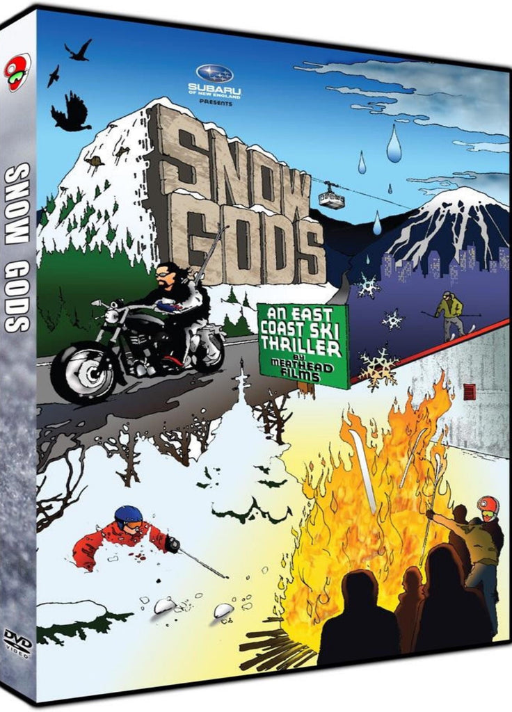 Snow Gods Ski DVD - An East Coast Ski Thriller