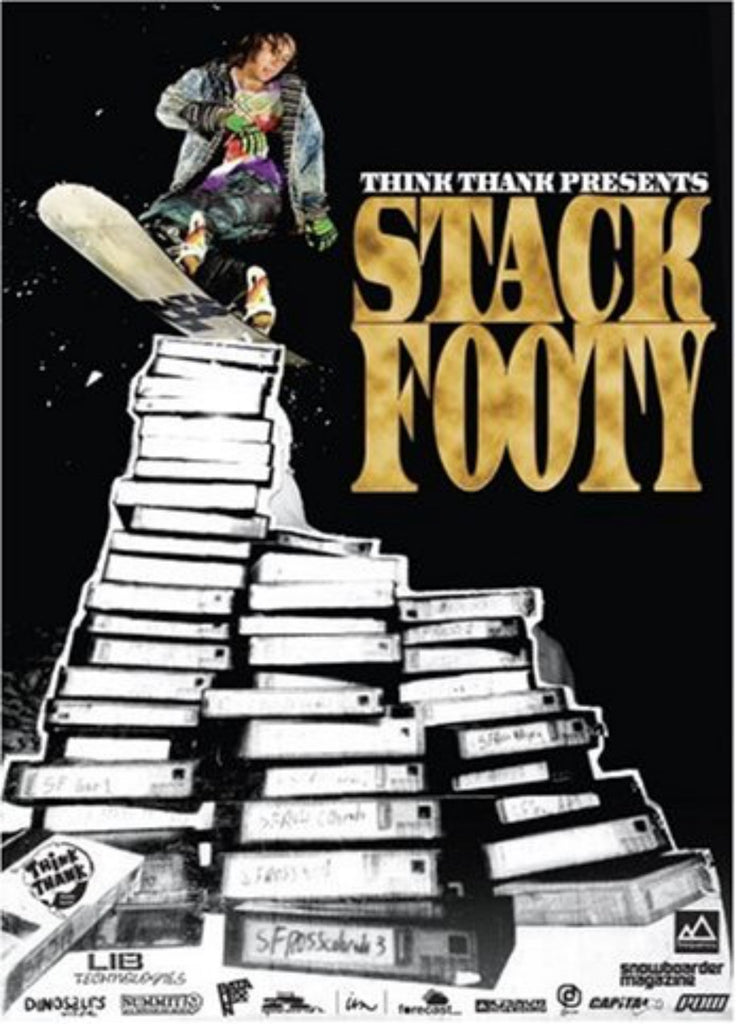 Stack Footy Snowboard DVD