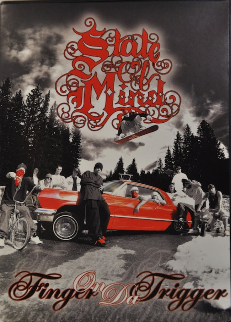 State of Mind Snowboard DVD