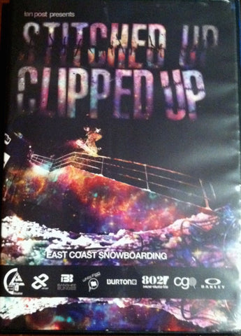 Stitched Up Clipped Up East Coast Snowboarding DVD