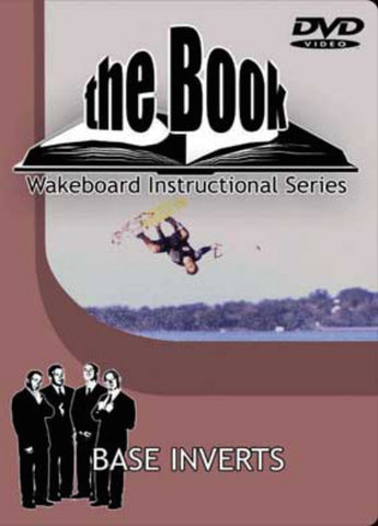 The Book Wakeboard Base Inverts