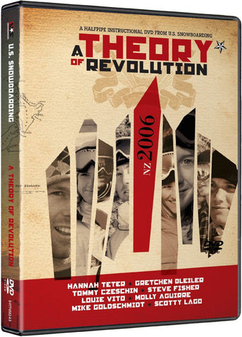 A Theory Of Revolution Half Pipe Snowboard DVD