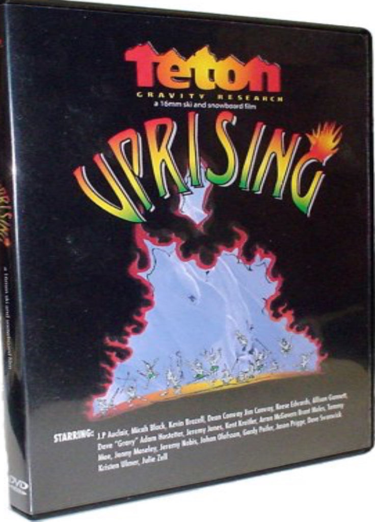 Uprising Ski DVD by TGR