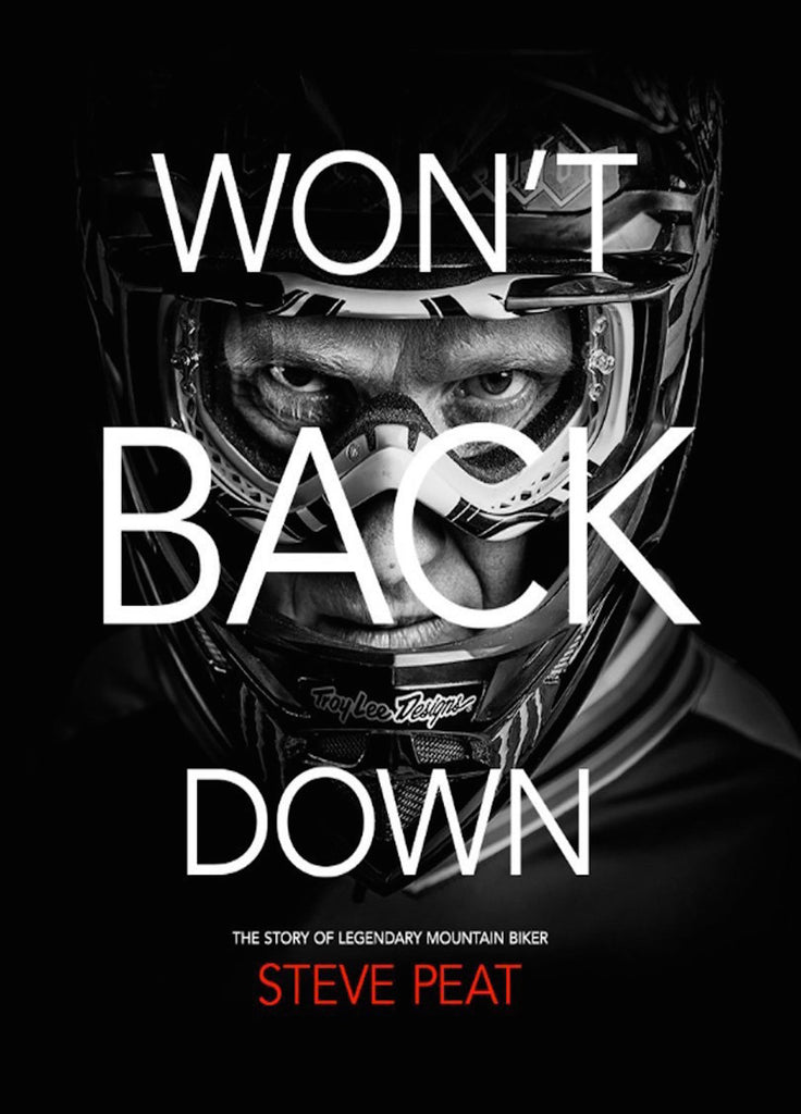 Steve Peat Won't Back Down MTB DVD Blu-Ray Combo with Free Where the Trail Ends DVD
