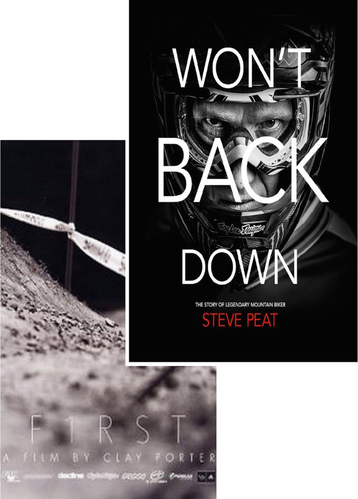 Clay Porter MTB 2-Pack: Won't Back Down DVD/Blu-ray and F1rst DVD