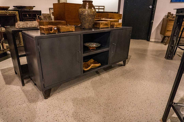 Low Iron Media Cabinet