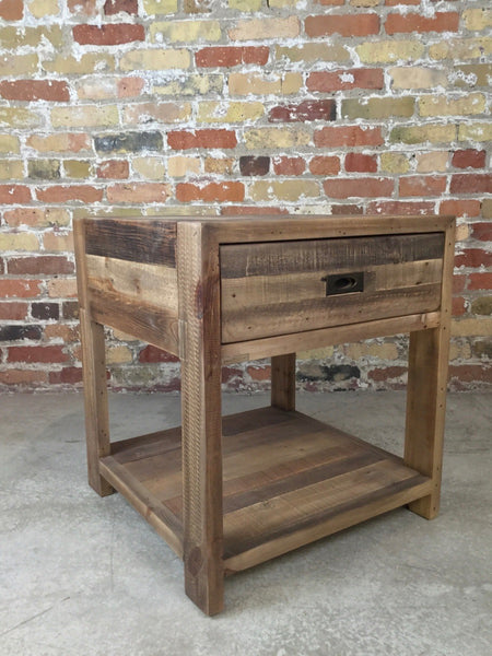 Reclaimed Side Tables