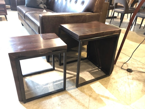 SET of Waterfall Nesting Tables