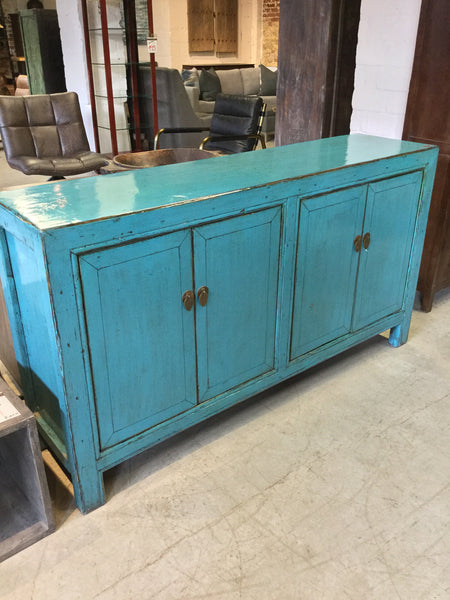 Lacquered Reclaimed Elm Buffet