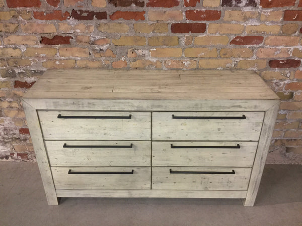 Salvaged Pine Chest of Drawers