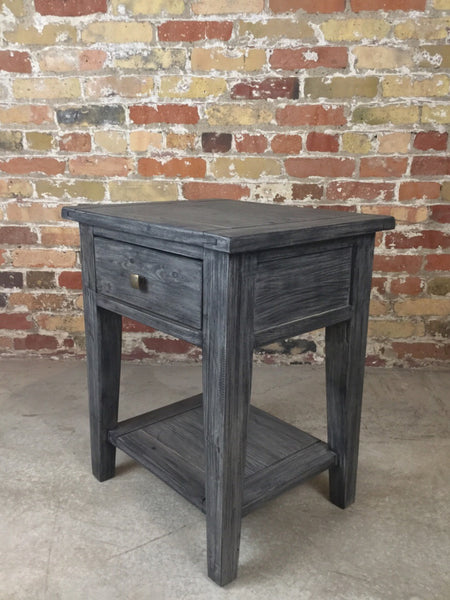 Reclaimed Pine Side Table