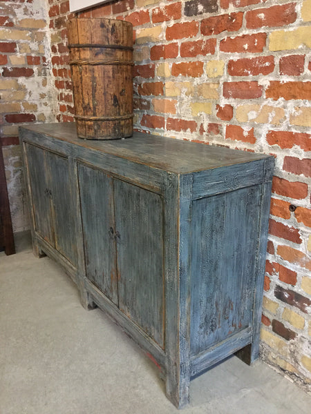 Early 20th Century Distressed Buffet