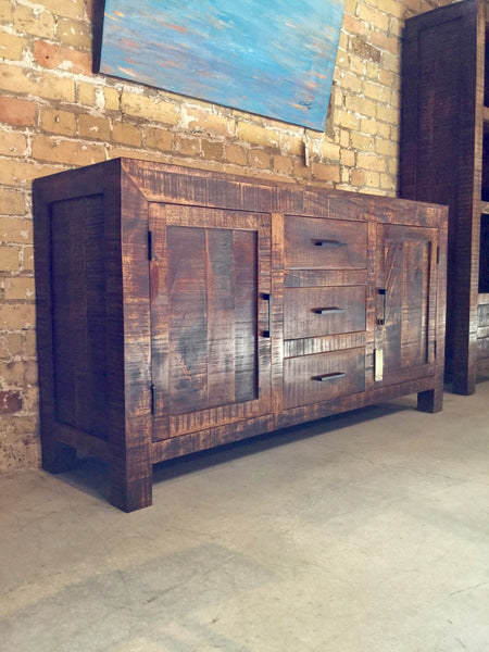 Distressed Mango Sideboard