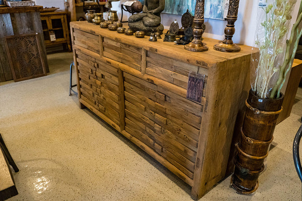 Solid Reclaimed Poplar Wood Buffet