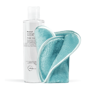 Micellar Water and Microfibre Make-up Removal Facecloth Bundle