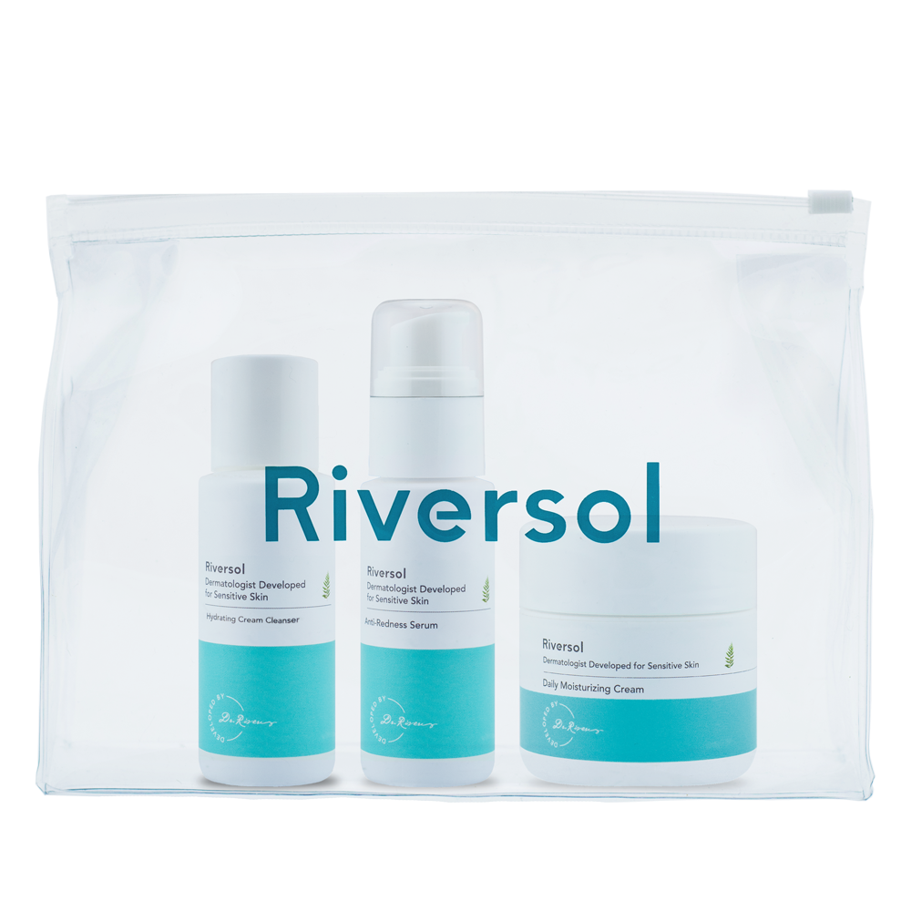 Travel Redness Control Trio, Normal-Dry Skin
