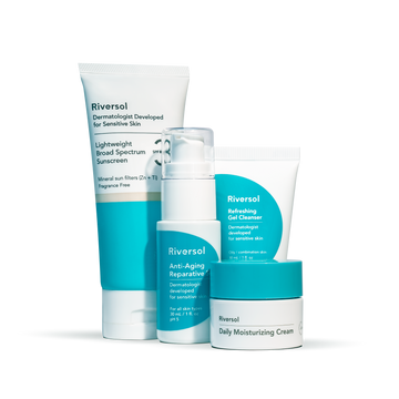 Travel Ready Anti-Aging Trio and Sunscreen