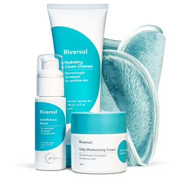 Redness Control Trio and FREE Make-up Removal Facecloth
