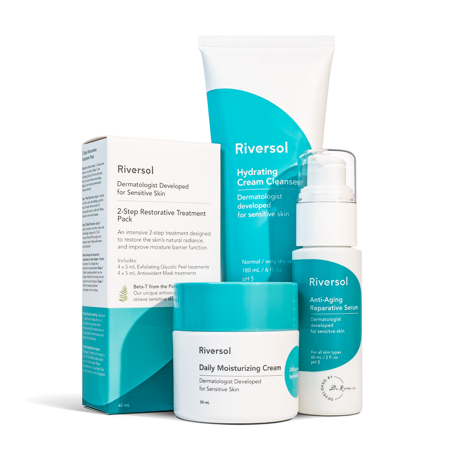 Anti-Aging Trio with FREE Restorative Treatment Pack