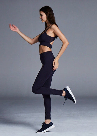 Athletic Legging - Varley Palms Tight In Navy