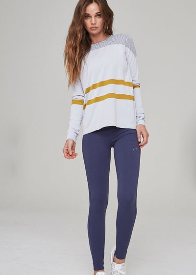 Athletic Legging - Varley Slauson Tight In Navy